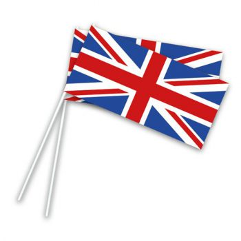 Landen zwaaivlaggetjes