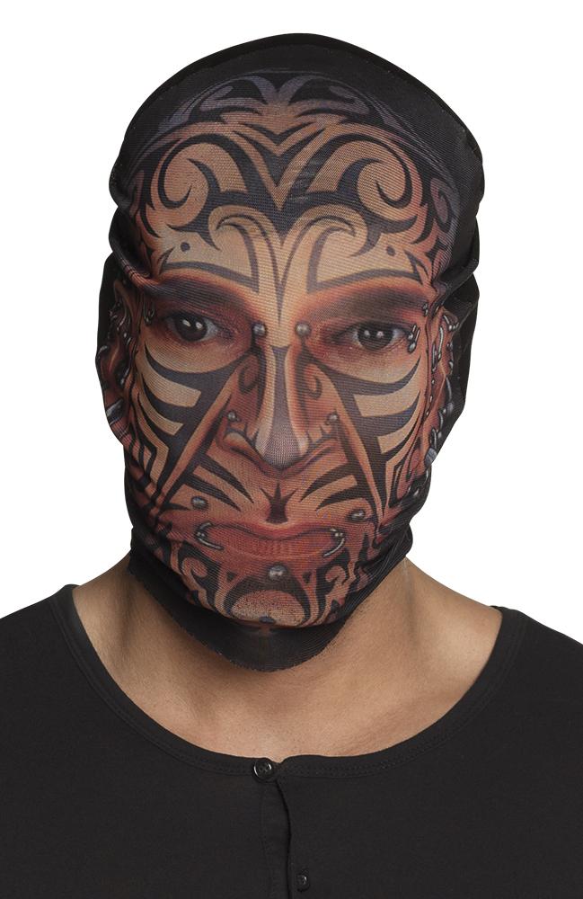 Gezicht Tattoo Sleeve