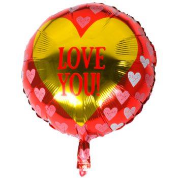 Folieballonnen Liefde / Jubileum