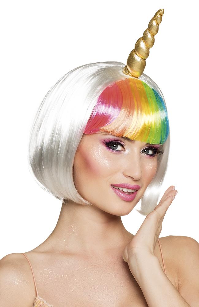 ᐅ Pruik Unicorn Moonlight + Horn Pruiken kopen