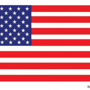 Vlag van Amerika - 150x90cm