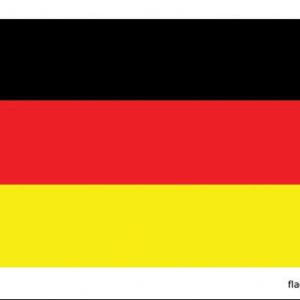 Duitse vlag - 150x90 cm