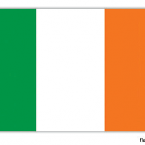 Ierse vlag - vlag van Ierland