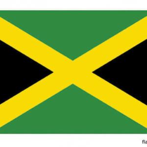 Jamaicaanse vlag - vlag van Jamaica