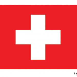 Zwitserse vlag - vlag van Zwitserland