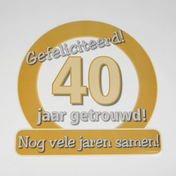 Jubileum 40 jaar