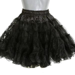 7288e136195138 ᐅ Petticoat lang zwart Rokken Petticoats kopen
